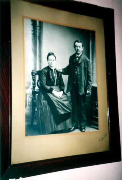 Heymann Lazarus Eisen and his wife Jetta