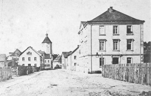 Burgstallstrasse around 1885