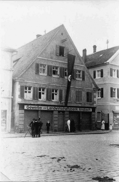 Photo of Marktplatz 16 in 1934