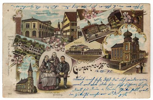 Postcard from 1898 © Stadtarchiv Gunzenhausen